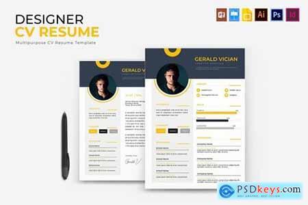 Designer - CV & Resume