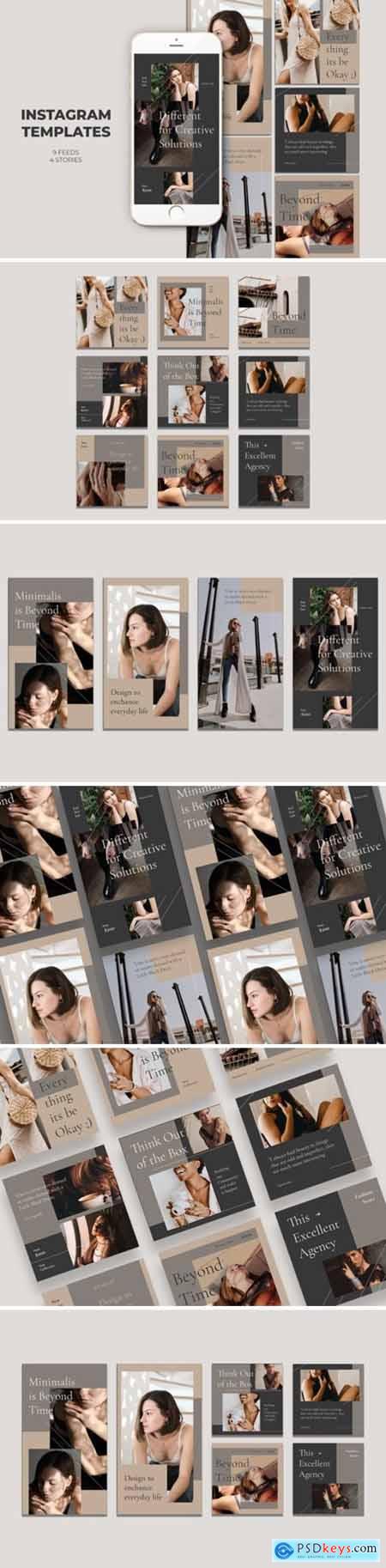 Fashion Instagram Templates 2654520