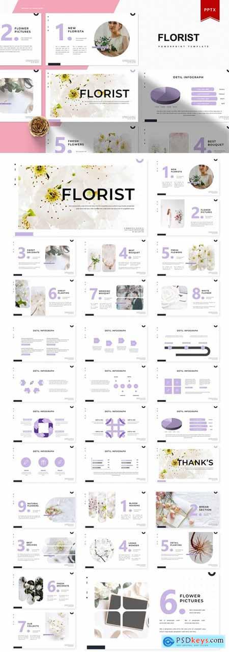 Florist - Powerpoint Template