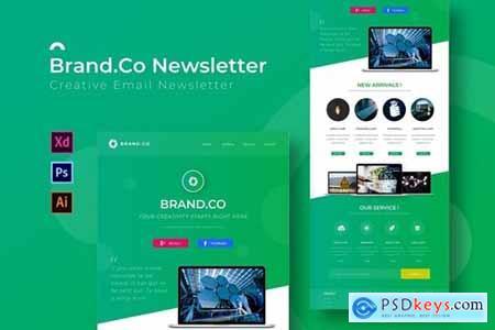 Brand.Co - Newsletter Template