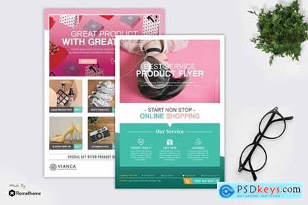 Vianca - Product Promotion Flyer HR