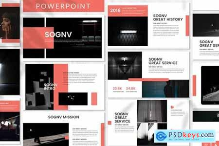 Sognv - Business Powerpoint Template