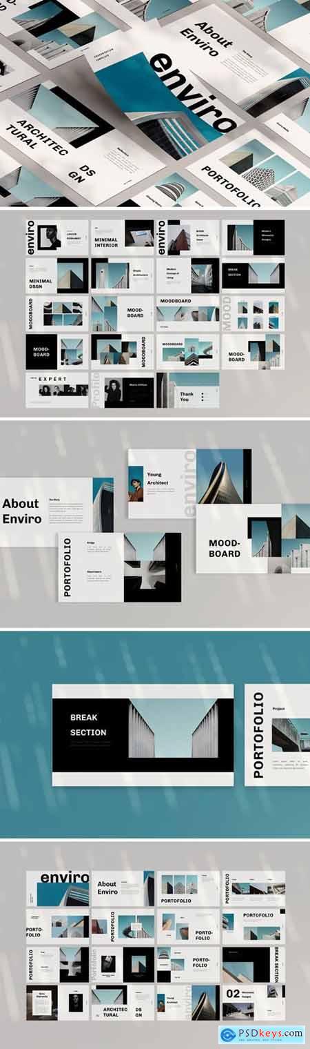 Enviro Powerpoint, Keynote and Google Slides Templates