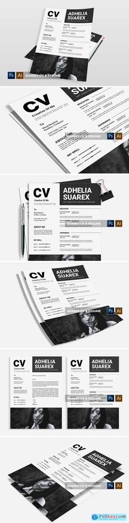 Suarex - CV & Resume