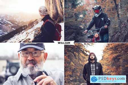 William Photoshop Action 4424580