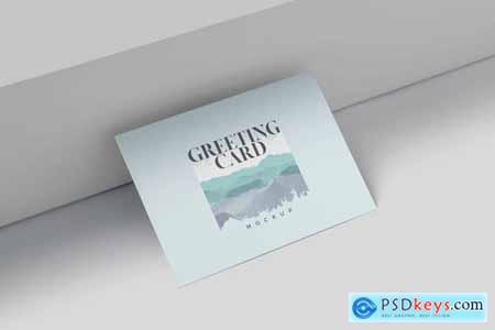 A6 Greeting Card Mockup Templates