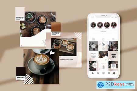 Coffee Shop Instagram Puzzle