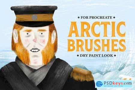 Arctic Dry Brushes for Procreate 4286336