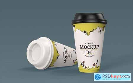 Paper Coffee Cup Mockup 1.0
