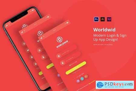 Worldwid Login App
