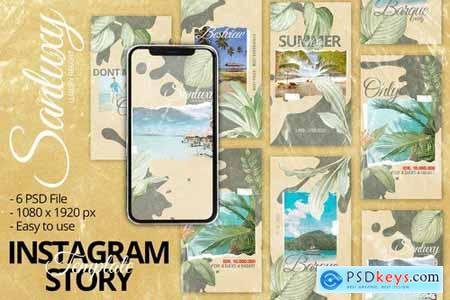 Santulux Instagram Story Template