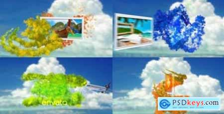 Videohive Tropical Particles 10558254