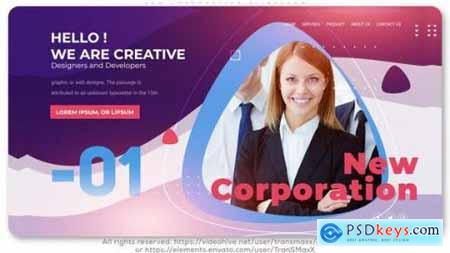 Videohive New Corporation Slideshow 25594346