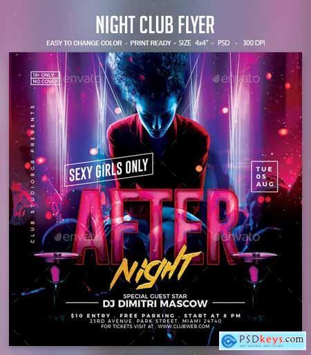 Night Club Flyer 25393621