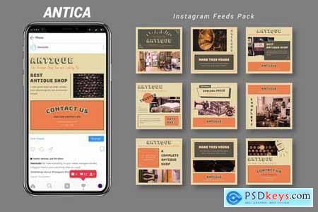 Antica - Instagram Feeds Pack