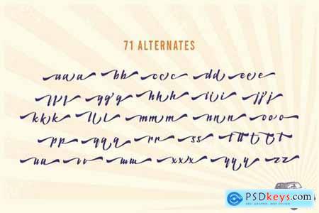 De Latto Classic Script Font