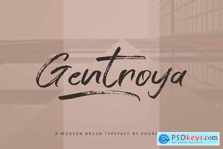 Gentroya Font
