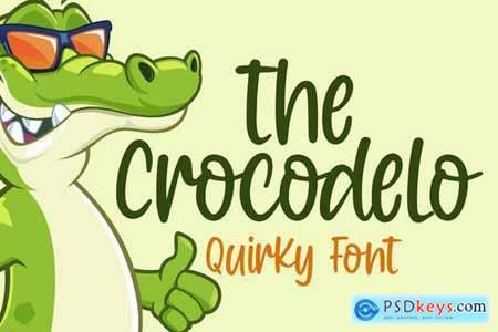 Crocodelo - a Quirky Font