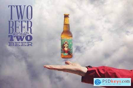 Heavenly Beer Mockup