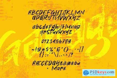 Old Garage Font