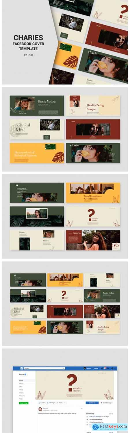 Charies Facebook Cover Templates 2661880