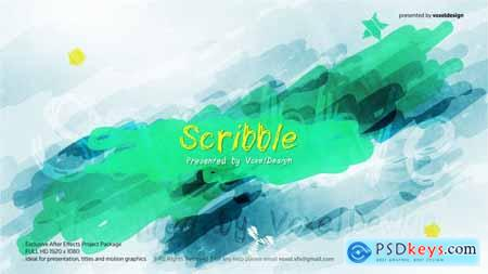Videohive Scribble Show Opener 25434754