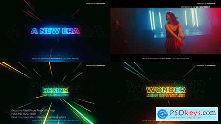 Videohive Wonder 80s Cinematic Titles 25624372