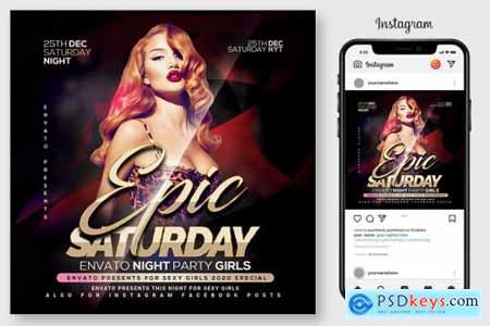 Epic Sound Flyer Template 4516061