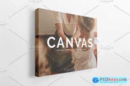 Landscape Canvas Ratio 4x3 Mockup 04 4265484