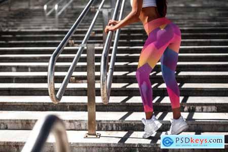 Leggings Mock-Up Sports Girl 2971156
