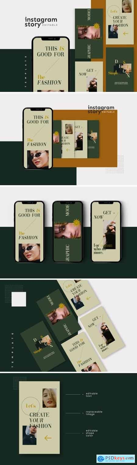 Instagram Story Template 2654441