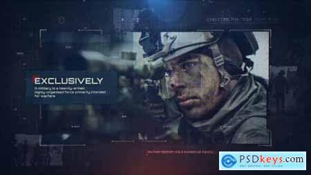 Videohive Military Slideshow 24217018
