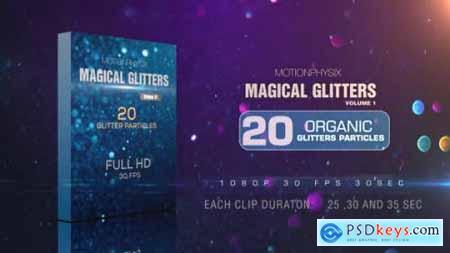 Videohive Magical Glitters Vol 1 20384834