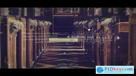 Videohive Wedding Parallax Slideshow 22079143