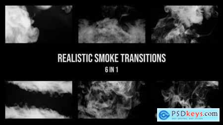 Videohive Realistic Smoke Transition 23954338