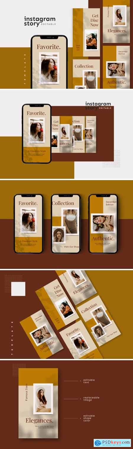 Instagram Story Template 2654149