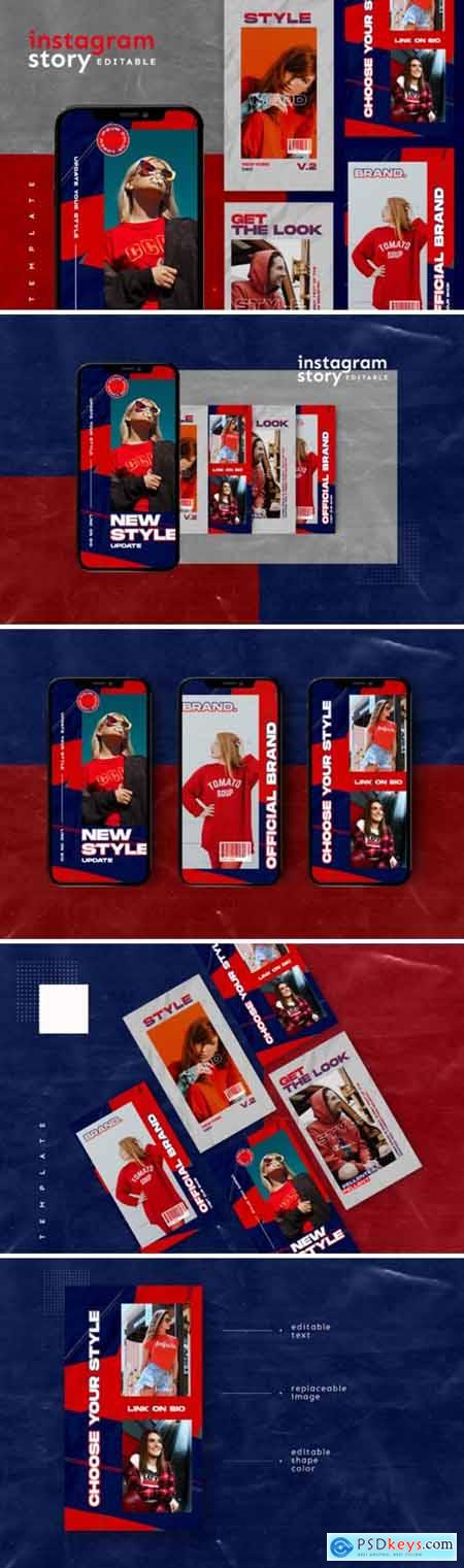 Instagram Story Template 2654135