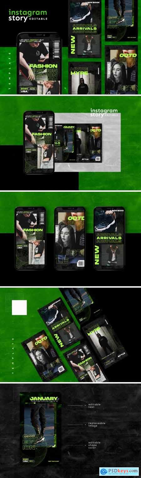 Instagram Story Template 2654145