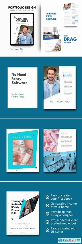 Graphic Designer Portfolio Template 2651740
