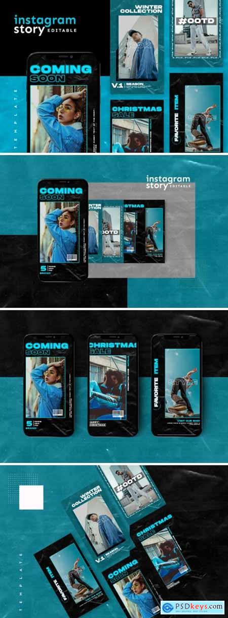 Instagram Story Template 2654114