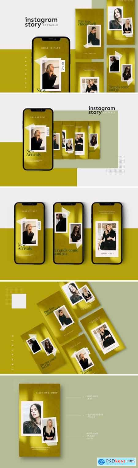 Instagram Story Template 2654166