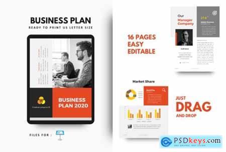 Business Plan 2020 Keynote Template 2651712
