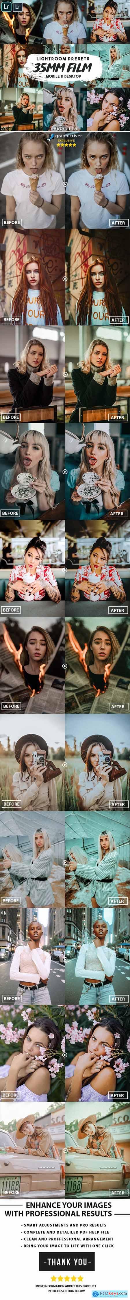 35mm Film Lightroom Presets 25555868