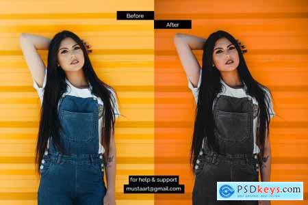 Black x Orange - Urban CR Filter 4492472