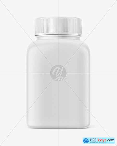 Square Pills Bottle mockup 54574