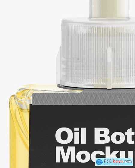 Oil Bottle Mockup 54710