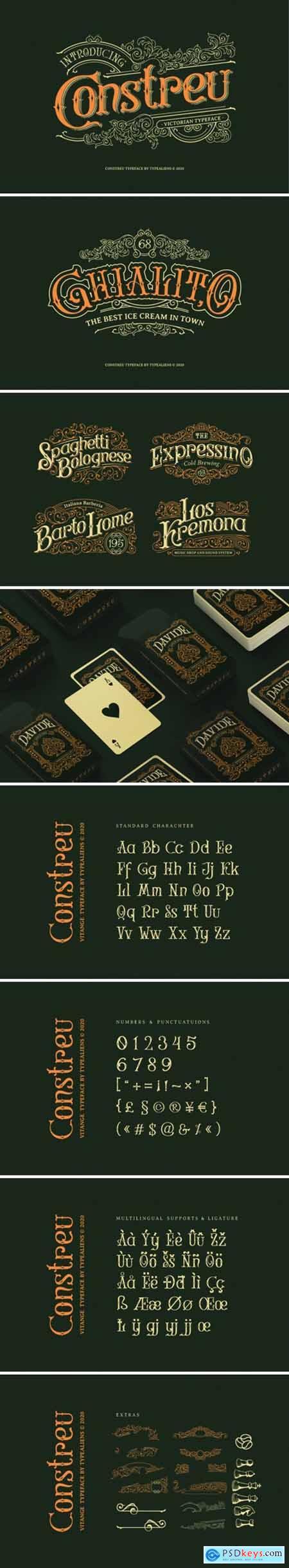 Construe Font 4500193