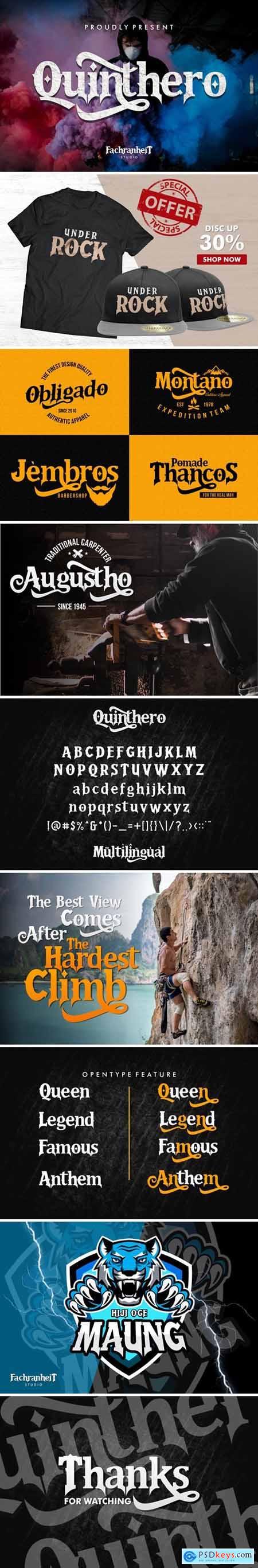 Quinthero Font 436610