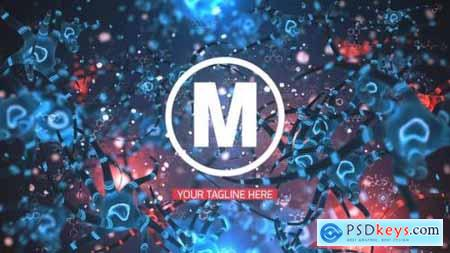 Videohive Bacteria Logo Reveal 22003738