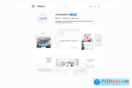Mist Instagram Puzzle - Canva & PS 4458416